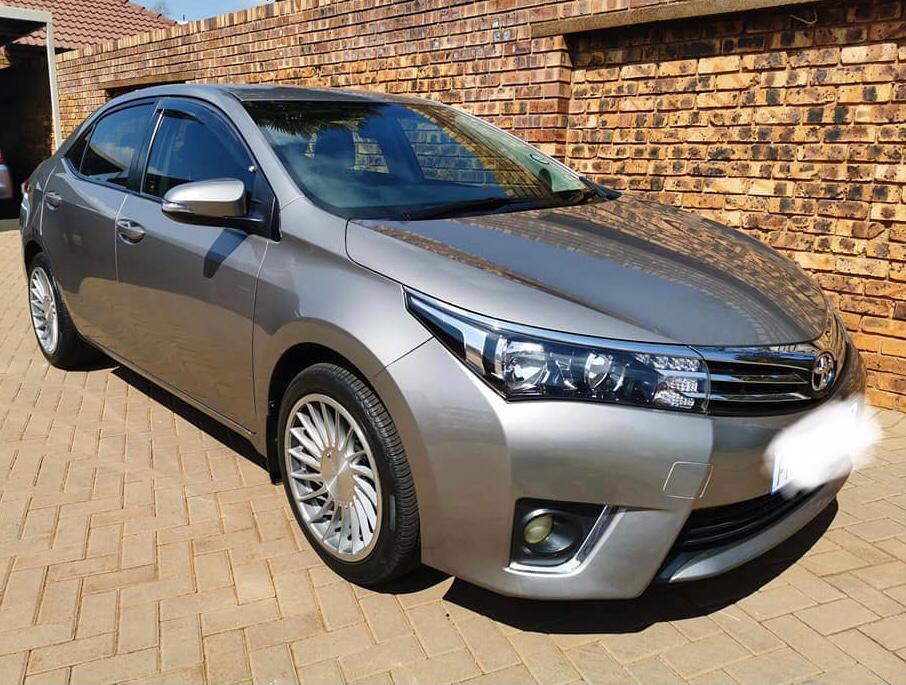 2016 Toyota Carolla 1.8 Prestige