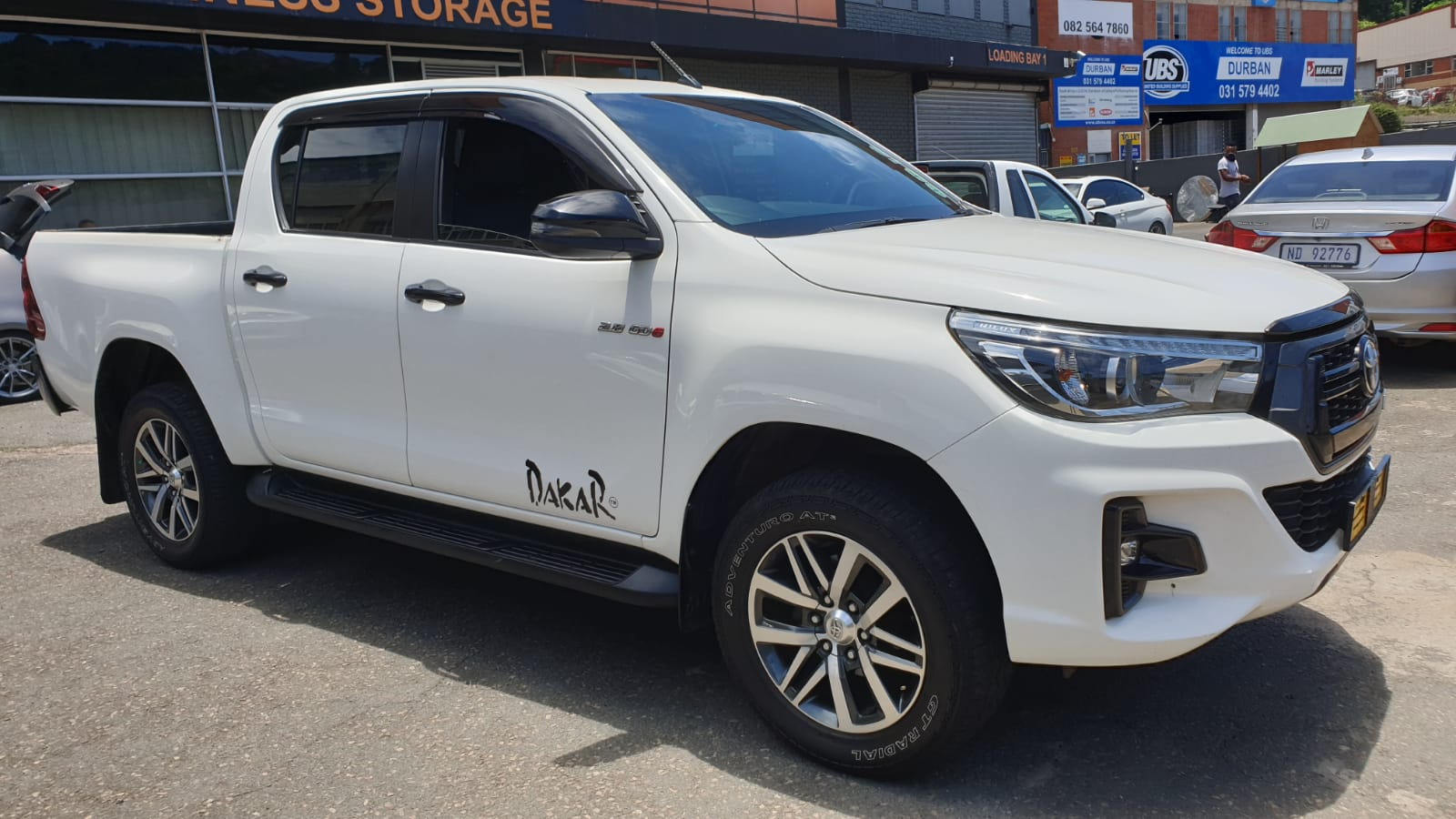 2018 Toyota Hilux 2.8 GD6 Dakar