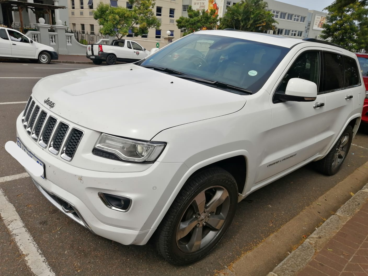 2016 Jeep Cherokee Overland 3.6 limited