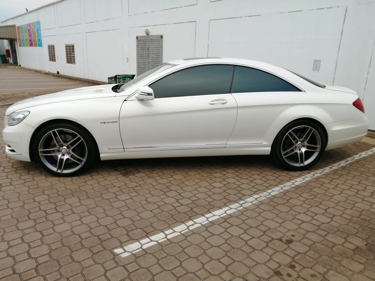 2015 Mercedes Benz S500 coupe